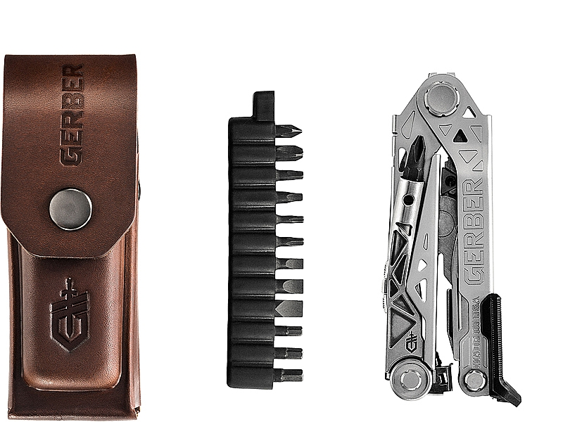 Center-Drive Plus (Multi-Tool) w/Bit Set & Leather Sheath